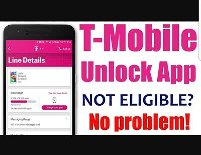 T Mobile Samsung Galaxy S7 S8  S8 Plus And Note 8  Remote Factory Unlock Service