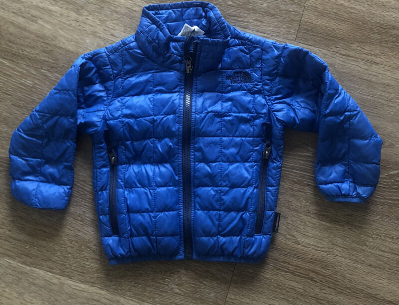 The North Face Down Jacket 2T Blue Toddler