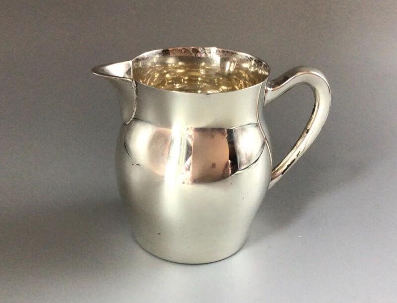 "Vintage -  Paul Revere Reproduction Mini-Creamer #363 - Poole - Sterling 2 7/8"""