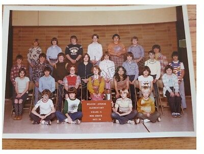 Kurt Cobain 5TH grade school photograph + coa! Kurts school photo 1977 Nirvana