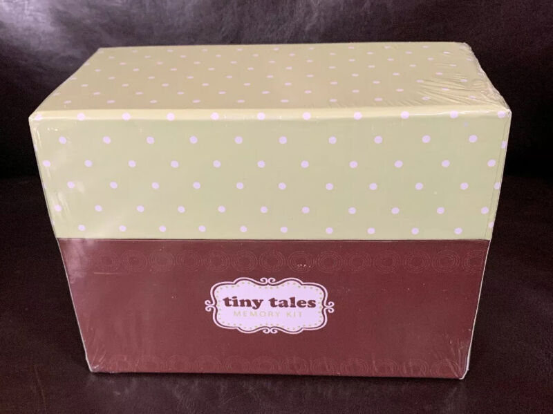 Tiny Tales Keepsake Baby Memory Kit Box.  New sealed