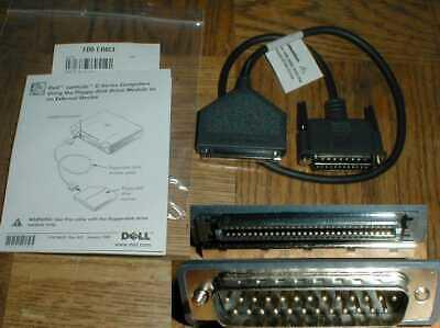 как выглядит Dell Latitude Inspiron C External Floppy Cable 53975 Series NEW фото