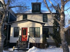 Lovely three story furnished home in the heart of Wolseley