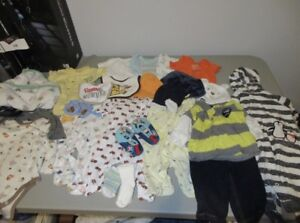 Infant boys clothes 0-3 months