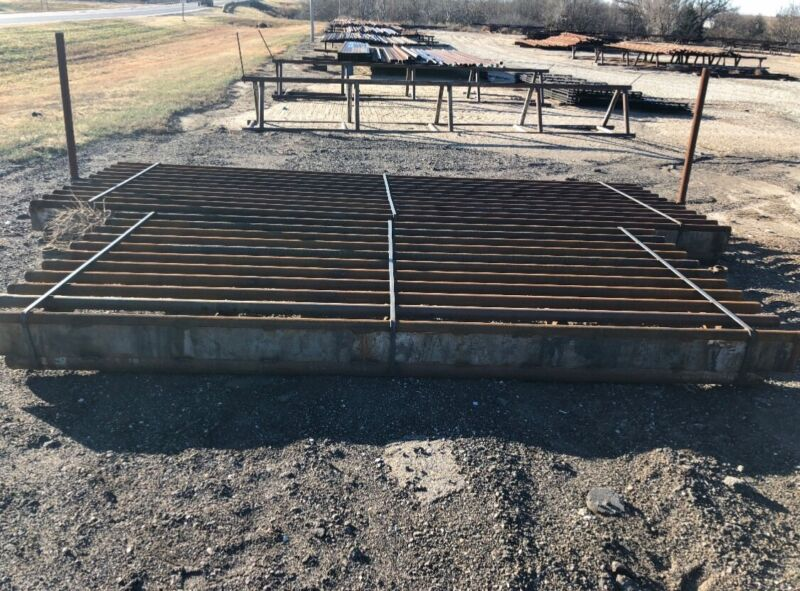 New Steel 15', 20', and 30' Cattle Guards