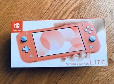 Nintendo Switch Lite Console (Coral) Pink U.S. Version New  Preorder