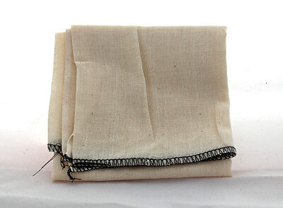Fine Butter Muslin Cheese Cloth 18 inch bound  square