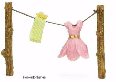 Miniature Out to Dry Clothesline  MG 266   Fairy Gnome Garden