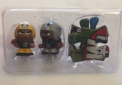 Nfl Series 6 Teenymates 2017  Packers Rodgers Cowboys  Elliott