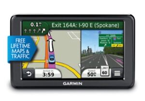 Garmin GPS life time maps, voice activated