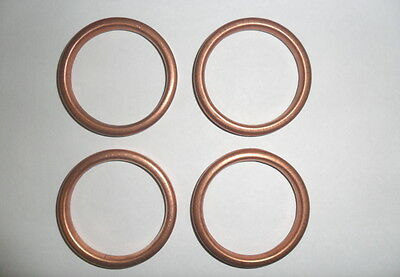 EXHAUST GASKETS for YAMAHA R6 2006 on Set of 4