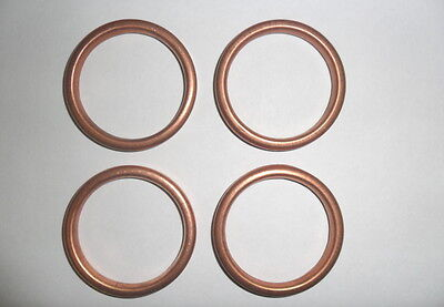 YAMAHA YZF600 EXHAUST GASKETS Thundercat Set of 4