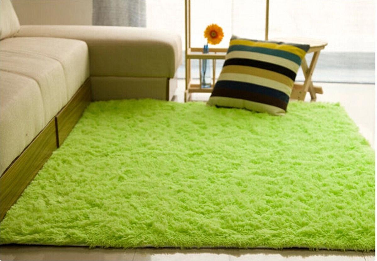 שטיחים שטח Fluffy Rugs Anti Skid Shaggy Area Rug Dining