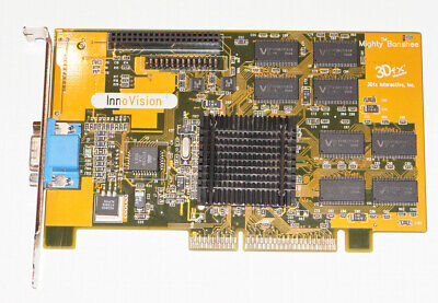 Used, 3DFx Voodoo InnoVision Mighty Banshee  16MB AGP for sale  Shipping to South Africa