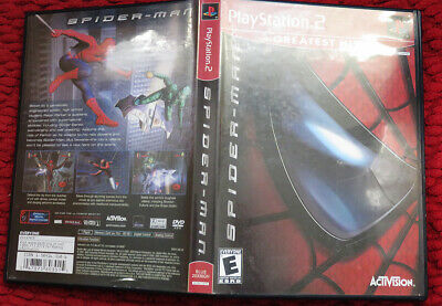 Spiderman 2 Ps2 Greatest Hits game