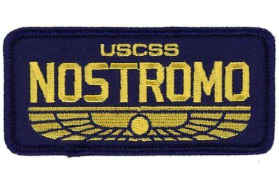 Tactical Nostromo Name Tag Ship Crew Alien VELCRO® BRAND Hook Fastener Patch