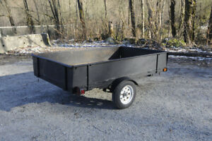 1999 Winterwolf Utility Trailer