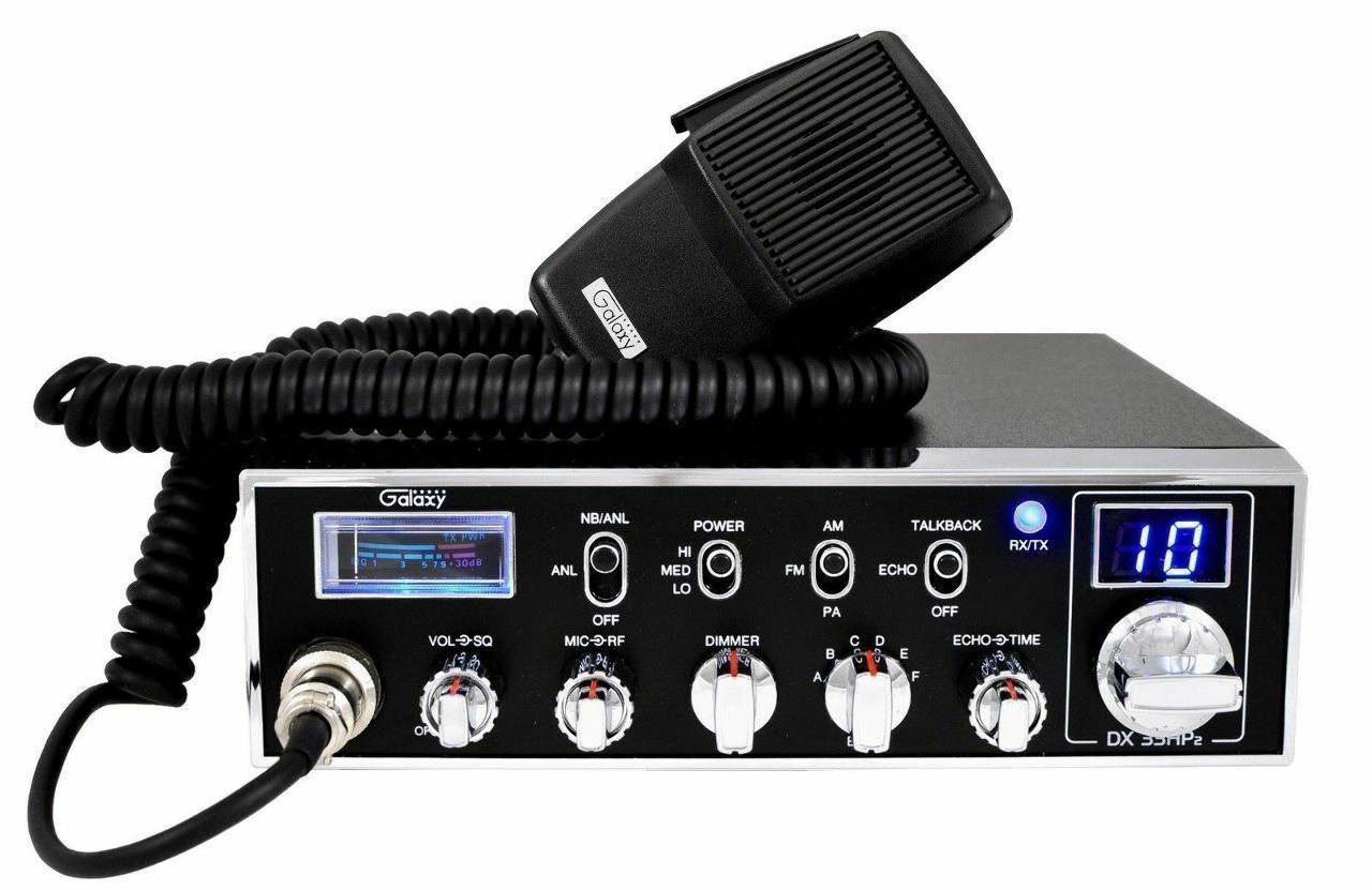 Galaxy Dx33hp2 Amateur, 10 Meter Radio