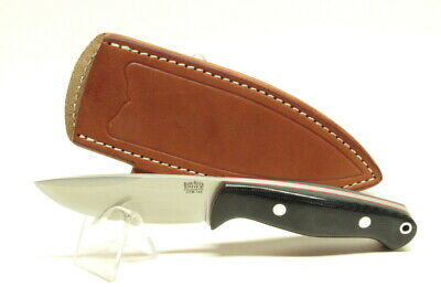 Bark River Knives North Country EDC, CPM154, Black Canvas with Red Liners, Hike