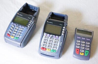 2 Verifone Credit Card Terminals 5750 5100 1 Pinpad 1000se