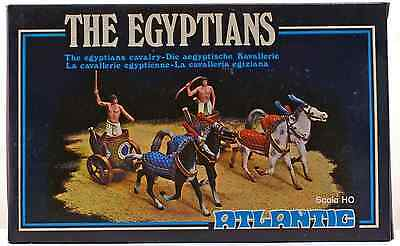Atlantic 'The Egyptians' Cavalry Chariot Set - 1802 - mint-in-box - 1/72nd scale
