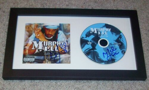 MURPHY LEE DUAL SIGNED AUTOGRAPH MURPHY'S LAW FRAMED CD & BOOKLET w/PROOF
