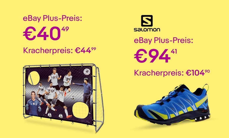 -10%: Sportartikel für eBay Plus-Mitglieder