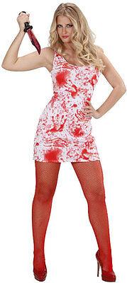 nkostüm NEU - Damen Karneval Fasching Verkleidung Kostüm (Bloody Mary Halloween)