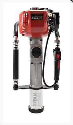 Gas Powered T-post Driver Titan Pgd 2875h Honda Motor