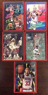 Nba Basketball 5 Card Lot Rigid Plastic Sleeves Ungraded Shoptradingcards Com