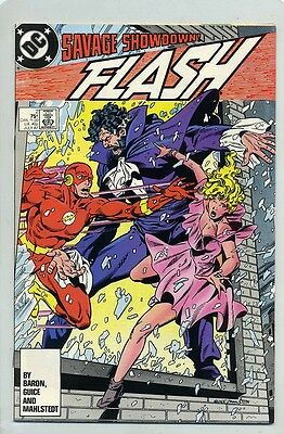 FLASH #2 ( NM ) NEW SERIES (1987) DC COMIC BOOK ( 2ND APPEARANCE VANDAL SAVAGE )