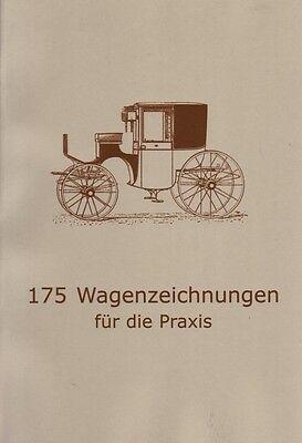 175 Wagenzeichnungen Stellmacher Konstruktion Kutschen Wagen Gig Break Phaeton