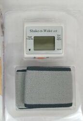 Tech Tools Shake-n-Wake Silent Vibrating Alarm Wrist Watch  PI-107 Open Box
