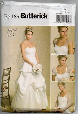 Butterick B5184 Size FF 16-22 Misses Dress Sewing Pattern Unused