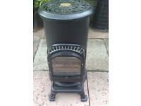 THURCROFT REAL FLAME GAS HEATER WITH GAS TANK RRP £450