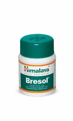 Herbal Bresol 60 Tablets Helps Allergic Bronchitis Stuffy Nose Asthma Breathing