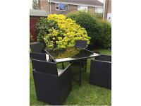 Outdoor Rattan Furniture - 4 Seater - REDUCED TO CLEAR