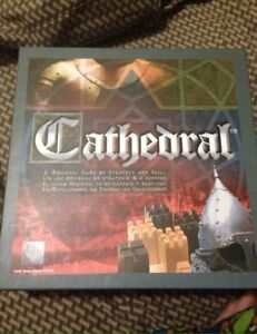 Cathedral wooden board game strategy chess