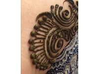 Professional henna/mehndi artist for all occasions. LONDON