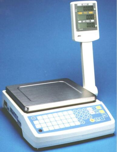 A&D SF-6KB  Price Computing Scale 15lb x 0.005lb, NTEP, NEW