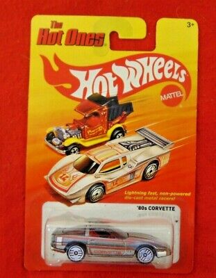 HOT WHEELS THE HOT ONES 80S CORVETTE ALL METAL 2011 ISSUE