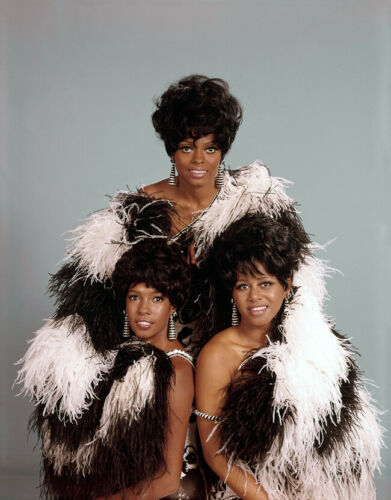 8x10 Print Diana Ross Mary Wilson Cindy Birdsong The Supremes Motown #SUPE