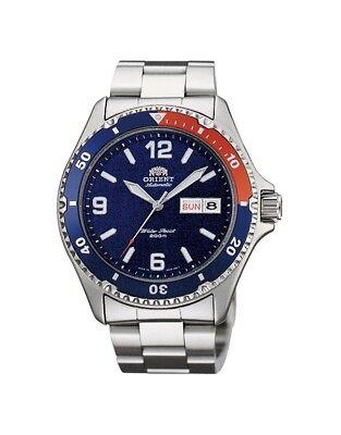 Orient Watch Pepsi Mako II FAA02009D AA02009D Stainless Steel 200m Diver Watch
