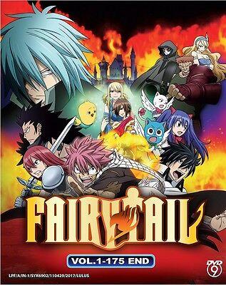 175 Serie (DVD Anime Fairy Tail Season 1 Complete Series (Vol. 1-175 End) English Subtitle )