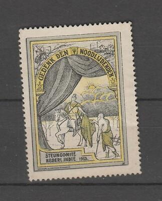 Netherlands cinderellas #144 - Support Dutch Indies 1913