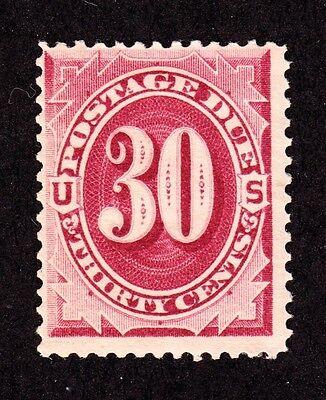 US J27 30c Postage Due Mint F-VF OG H SCV $575