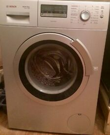 Bosch Silver Washer Dryer