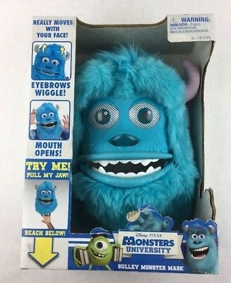 Monsters Inc Sulley Monster Mask Pixar Movable Costume Halloween New