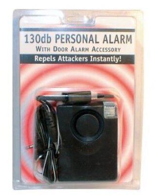 3 in 1 Personal Alarm 130db FLASHLIGHT Home Window Door Travel Portable Alarm