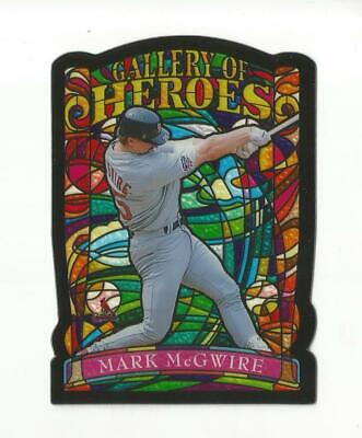 B397 MARK MCGWIRE 1998 TOPPS GALLERY OF HEROES STAINED GLASS GH7 CARDINALS (Glasses Gallery)